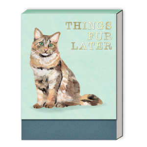 Things Fur Later (Calico) Pocket Notepad