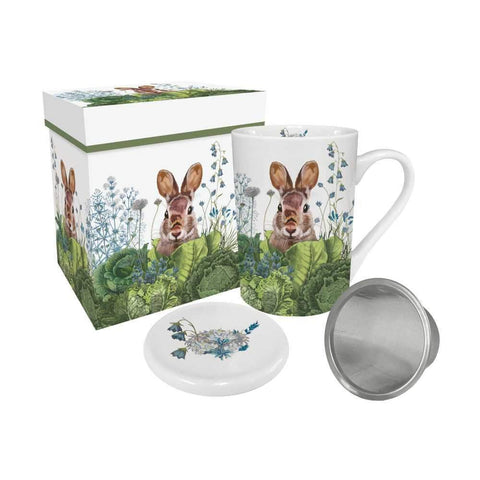 Bunny Mug With Infuser & Lid