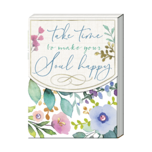 Take Time To Make Your Soul Happy Pocket Notepad