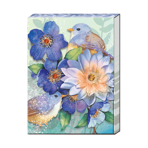 Lotus Bird- Pocket Notepad