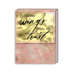 Under His Wings Pocket Note Pad