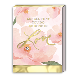 Let All That You Do Be Done In Love Pocket Notepad