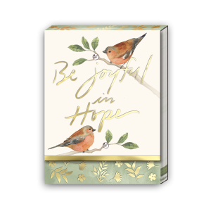 Be Joyful In Hope Pocket Notepad