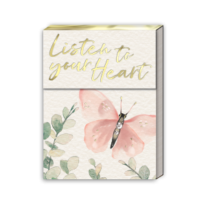 Listen To Your Heart Pocket Notepad