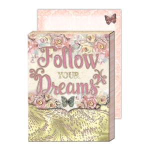Follow Your Dreams Pocket Notepad