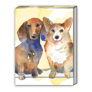 Daschund Corgi Pocket Notepad
