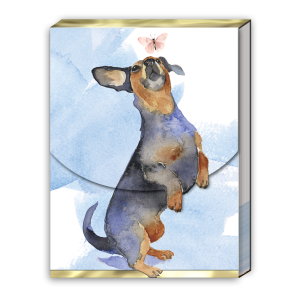 Daschund Pocket Notepad