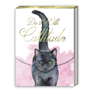 Do It With Cattitude Pocket Notepad