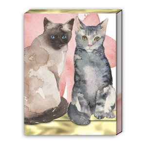 Cat Duo Pocket Notepad