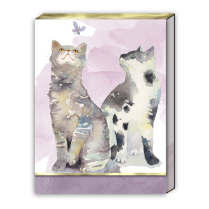 Butterfly Cats Pocket Notepad