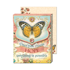 Once You Choose Hope Anything Is Possible Pocket Notepad