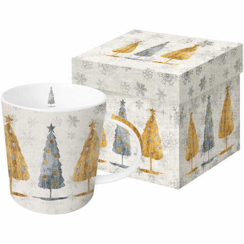 Holiday Trees - Mug with Gift Box
