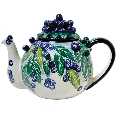 Blueberry Teapot