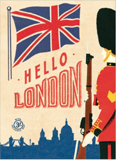 Hello London Poster