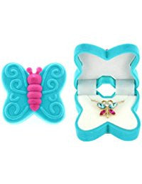Butterfly Necklace with Box