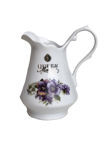 Queen Mary Signature Creamer Pansy Duo