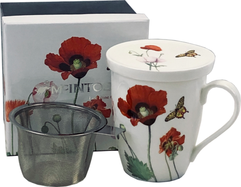 McIntosh Poppies - Mug & Infuser Set