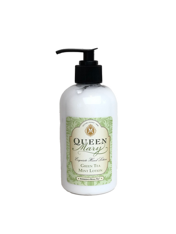 Queen Mary Green Tea Mint Lotion