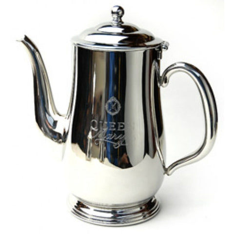 Queen Mary Stainless Steel Teapot