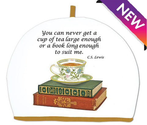 Tea and Books Tea Cozy