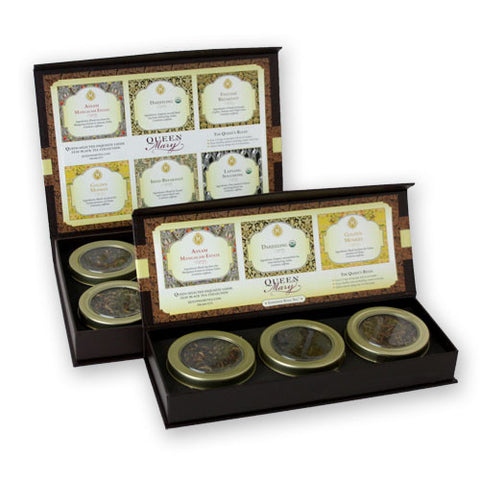 Tea Gift Box - Black Tea Sample Collection