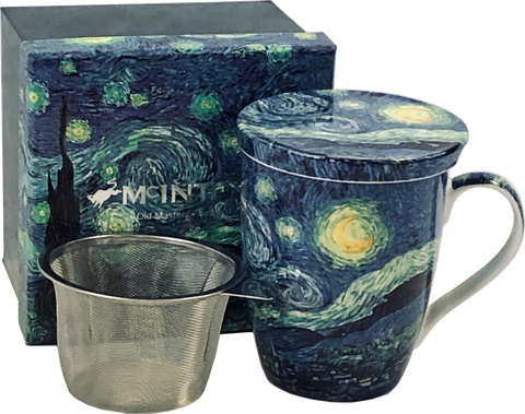McIntosh Vincent Van Gogh Starry Night - Mug & Infuser Set