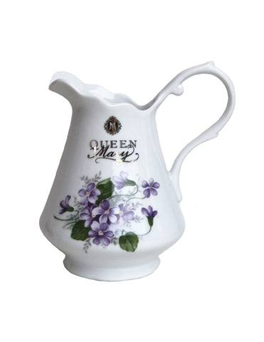 Queen Mary Signature Creamer Violets