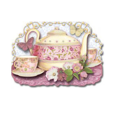 Yellow Teapot Card