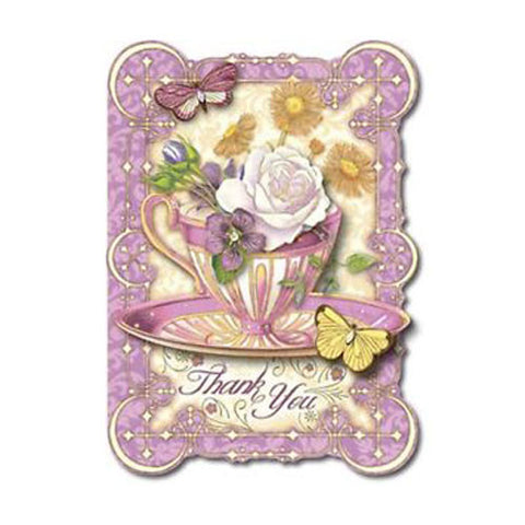 Teacup Thank You Card