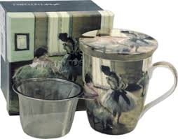 McIntosh Degas Dance Lesson - Mug & Infuser Set