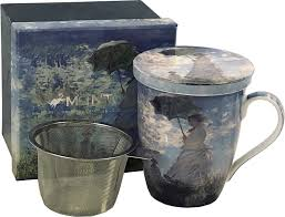 McIntosh Monet Woman with Parasol - Mug & Infuser Set