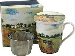 McIntosh Monet Poppies - Mug & Infuser Set