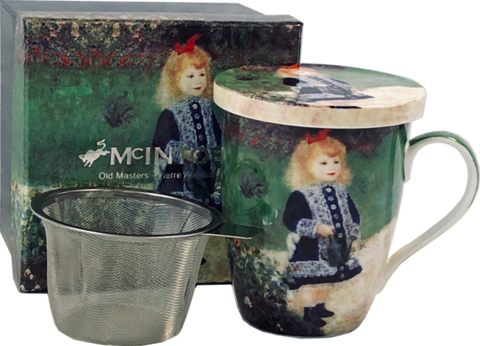 McIntosh Renoir Girl With Watering Can - Mug & Infuser Set