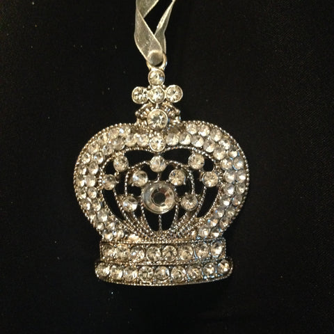 Jeweled Crown Ornament - Imperial