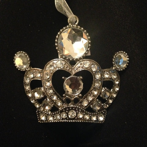 Jeweled Crown Ornament - Royal