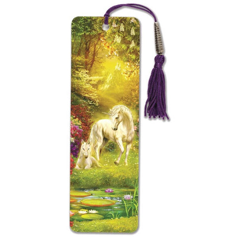 Unicorn Beaded Bookmark