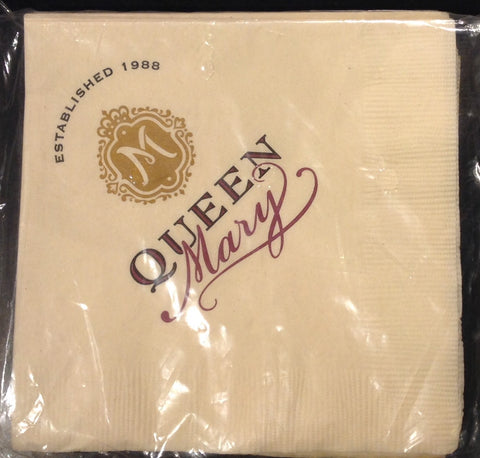 Queen Mary Signature Cocktail Napkin