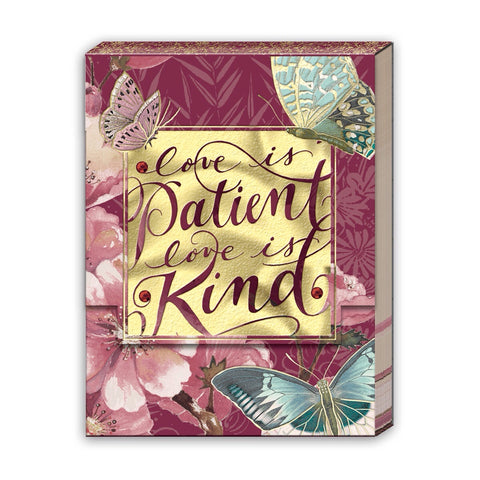 Love is Patient - Pocket Notepad