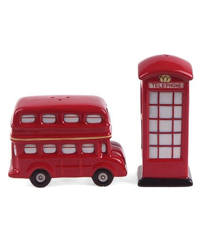 London Salt and Pepper Shakers