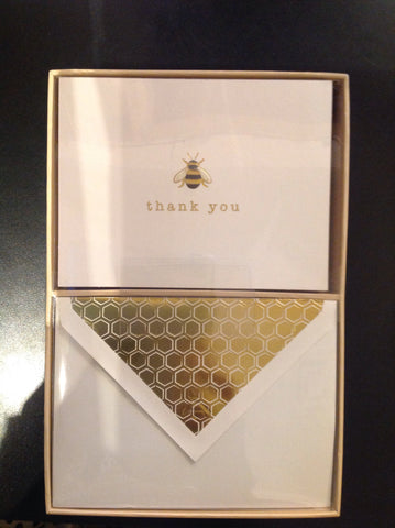 Honeybee Thank You Cards