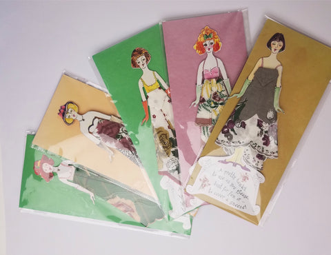 Hankies Handkerchiefs Dress Card (assorted)