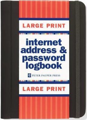 Internet Logbook (Large Print)