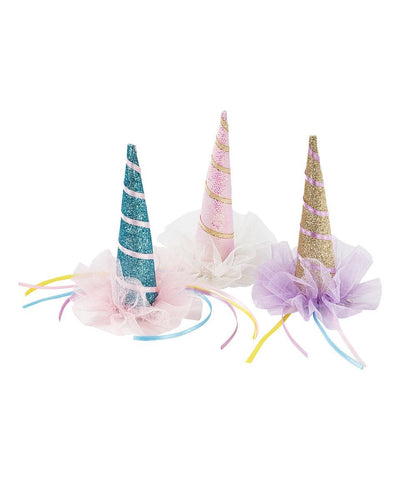 Unicorn Horn Clip In Party Hat