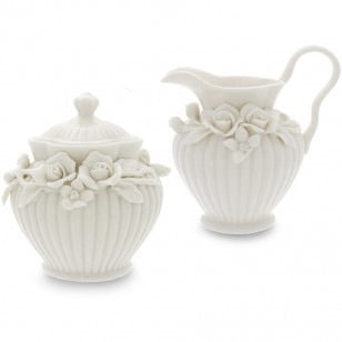Rosalie Sugar and Creamer Set
