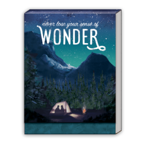 Never Lose Your Sense Of Wonder Pocket Notepad