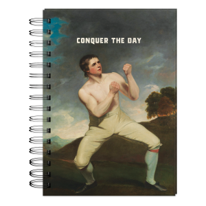 Conquer The Day Spiral Notebook