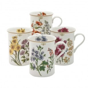 Botanical Floral Can Mug