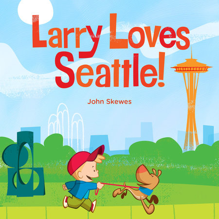 Larry Loves Seattle Board Book