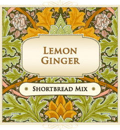 Shortbread Mix - Lemon Ginger