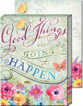Good Things Are Going To Happen Pocket Notepad